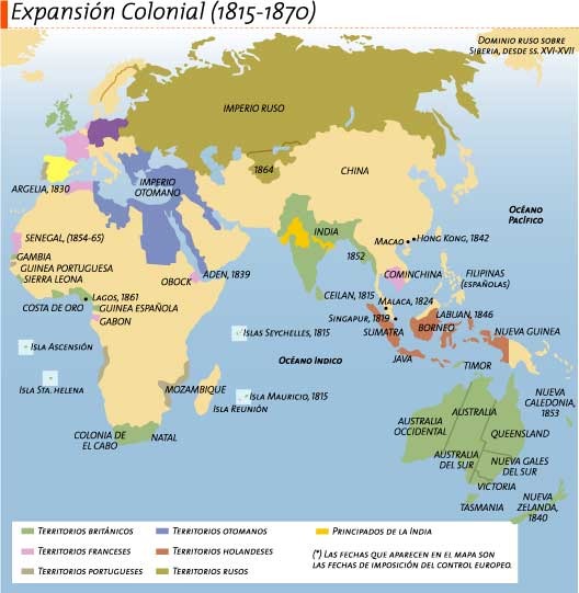 colonial expansions Consequently, a largely unjustified sense of insecurity developed in britain, which lead in turn to a desire to defend the british empire such challenges from other developing nations were.