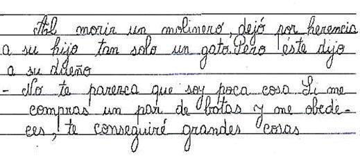 Entra para que leas el cuento en letra cursiva, escrito por Jonathan ...
